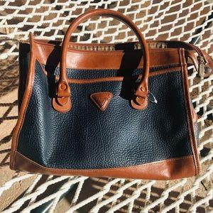Vintage GUESS 90s leather shoulder bag purse 1830bfd88c
